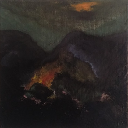 Erdőtűz éjjel - Wildfire by night, 2019