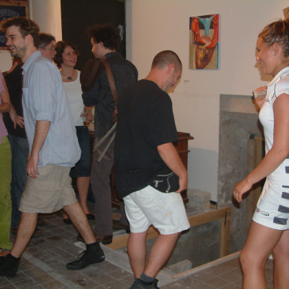 photo: Unknown - exhibition opening @ Chinese Characters Contemporary Art Space (2008) /3