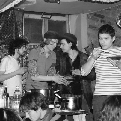 photo: Unknown - cooking party in Klub Vittula (2009)
